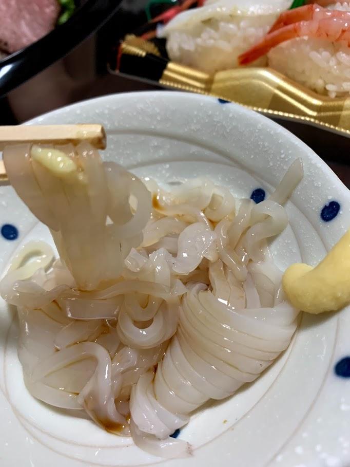 マイカ刺し身小樽産